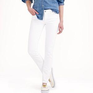 J Crew White Reid Jeans